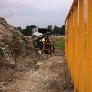 Styret underboring under Susåen ved Næstved i forbindelse med den nye omfartsvej af PA Underboring - Entreprenør Per Andersen